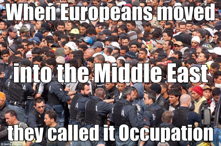 european occupation of middle east