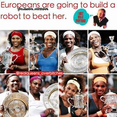 europeans will create robot to beat serena williams