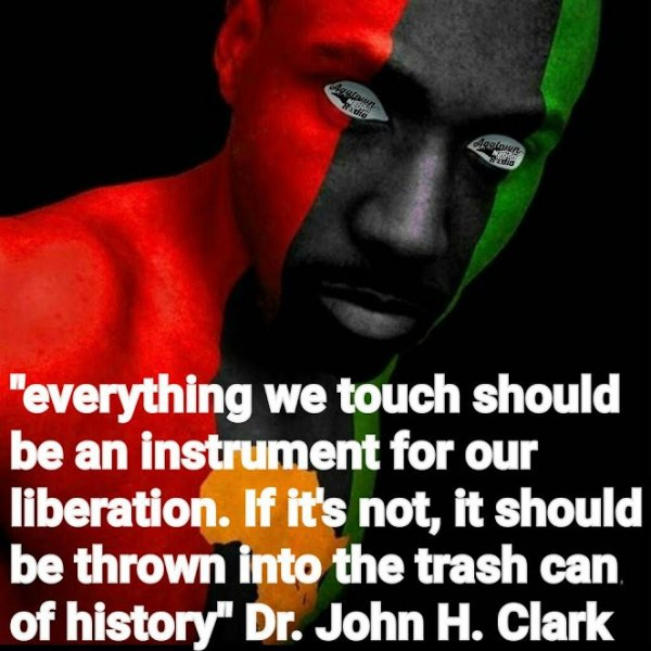 everything we touch should be an instrument for our liberation