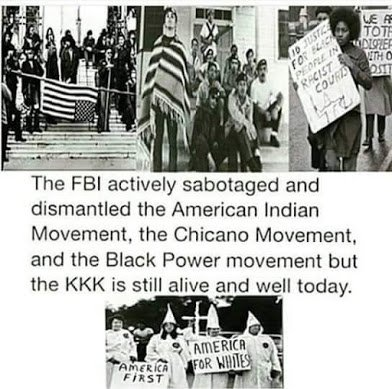 fbi destroyed all but the kkk
