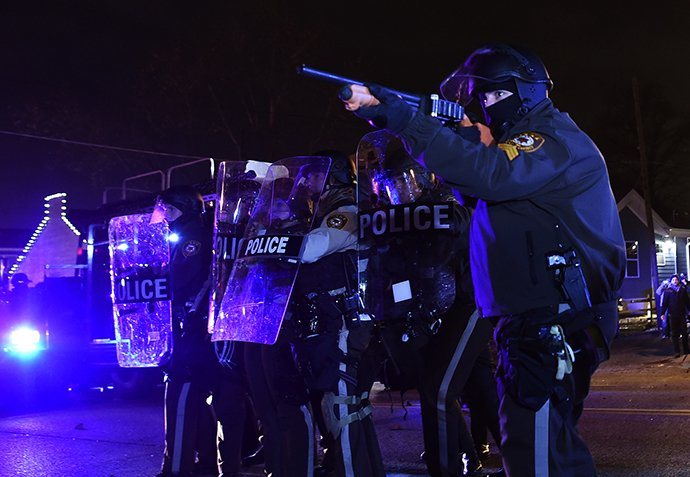 US-CRIME-POLICE-RACE-UNREST