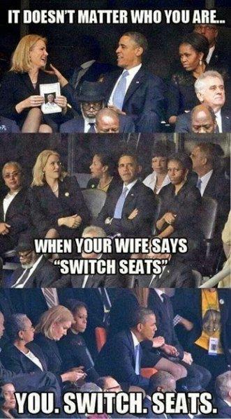flirting obama