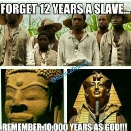 forget twelve years as slaves