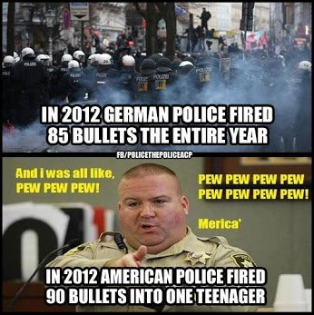 german versus us police2