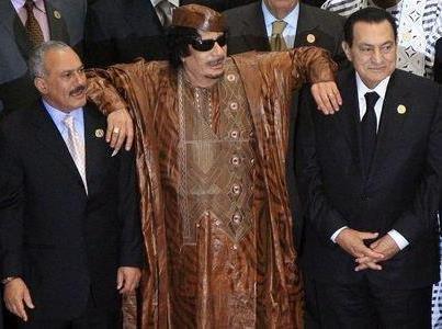 ghadafi wt mubarak