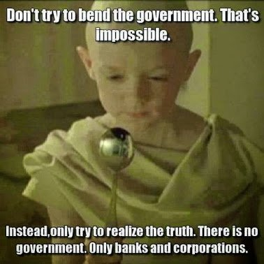 govt is only corps and banks