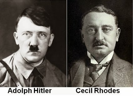 hitler and cecil rhode