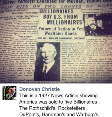 how america was sold to billionaires