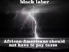 african american dont need to pay taxes