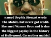 african american lady wrote the matrix