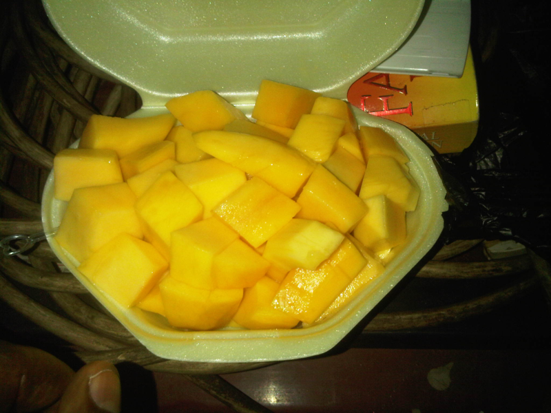 mango lunch in accra