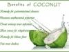 benefit of coconut
