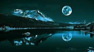wonderful moon reflection