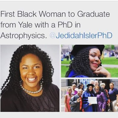 1st african woman php in astrophycist