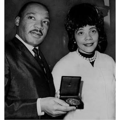 50 yrs ago on this date Dr. Martin Luther King Jr won the Nobel Peace Prize