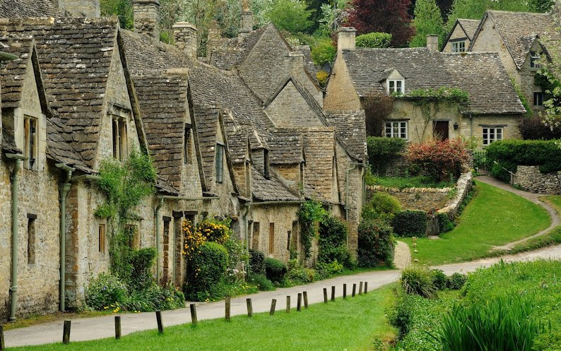 Bibury in England