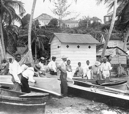 Boat-builders and Fishermen, Jamaica