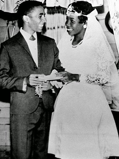 Bob-Marley-and-wife-Rita-Anderson-on-their-wedding-day-in-1966