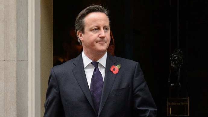 British PM Cameron