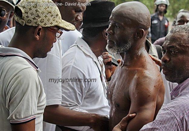 Gabby Asare Otchere Darko beaten by police