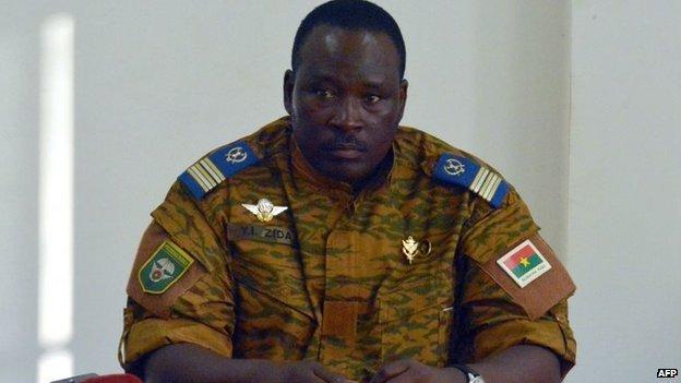 Lieutenant Colonel Isaac Zida