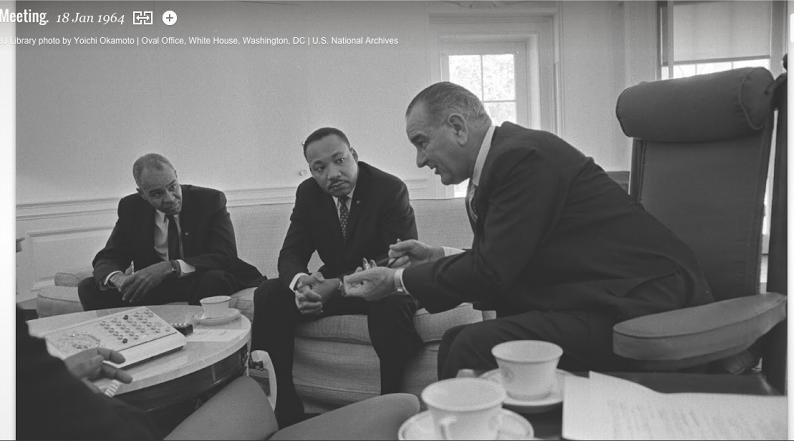 MLK and Johnson