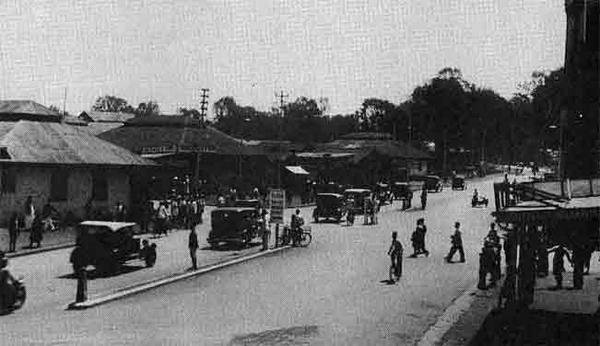 Nairobi Governmnet Road in the 1920s