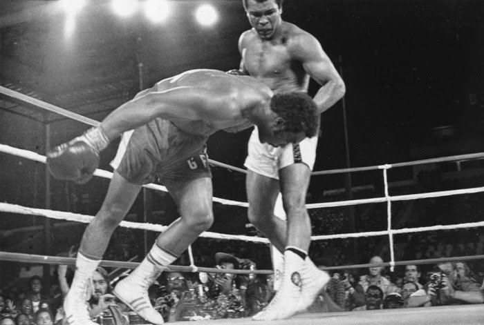 Today in Black History On October 30 1974 Muhammad Ali regains the World Heavyweight Boxing Championship in Kinshasa Zaire by defeating George Foreman