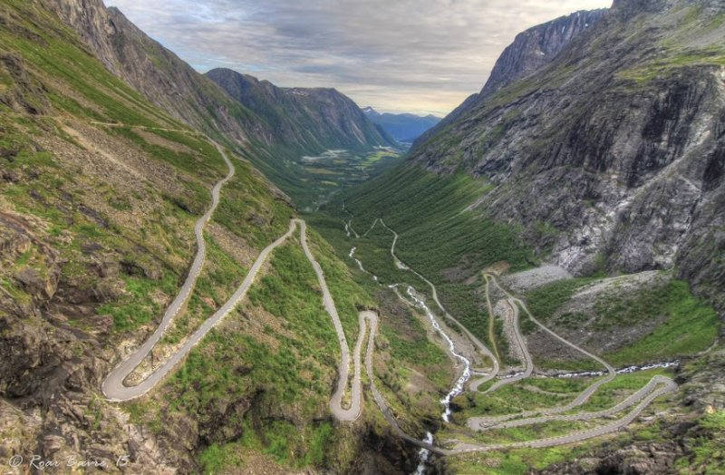 Trollstigen road, Norway