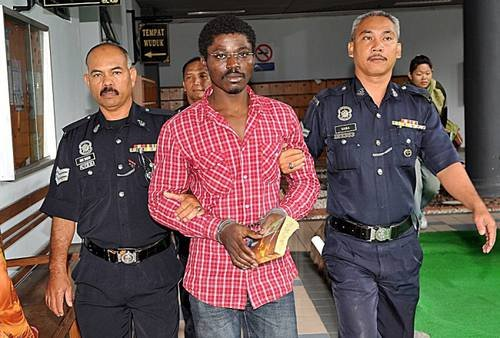 abuchi ngwoke nigerian sentenced to death in malasia over drug