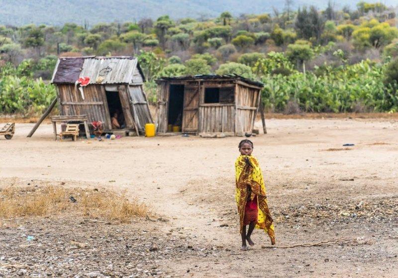 african village