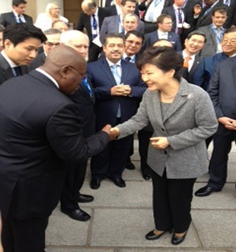akuffo addo with korean president
