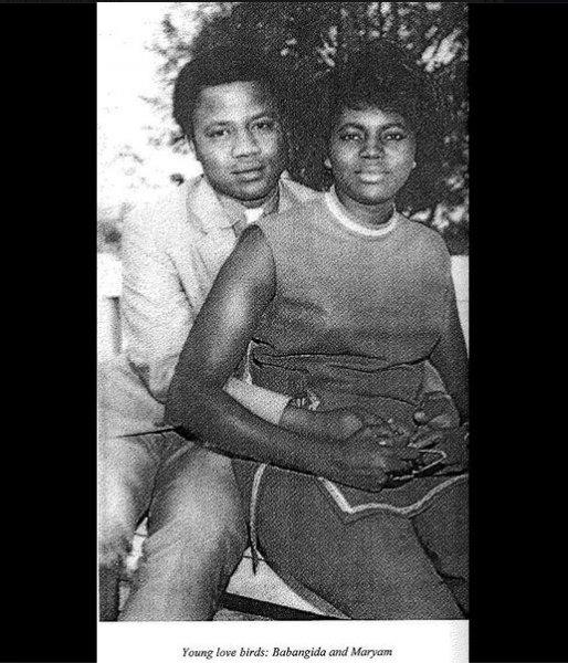 babagida and wife