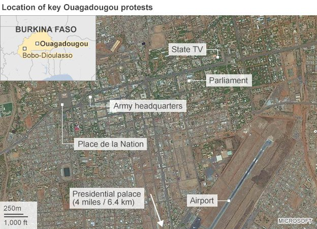 bbc picture of ougadougou
