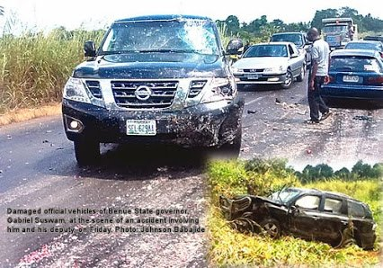 benue gov car accident