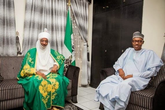 buhari and emir of kano1