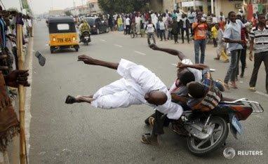 celerants of buhari victory