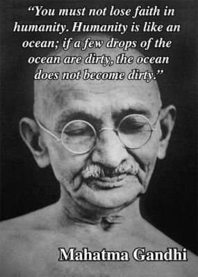 gandhi on humanity