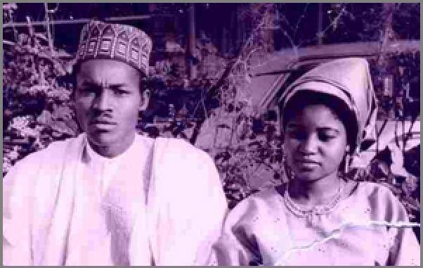 general buhari and wife