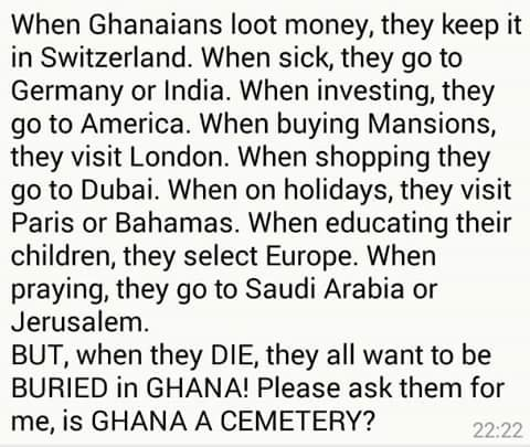 how to be a ghanian