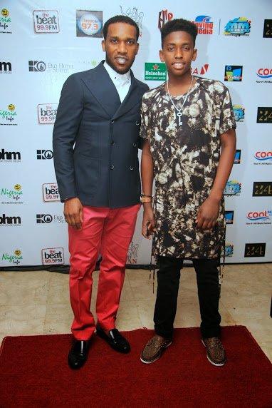 jay jay okocha and son