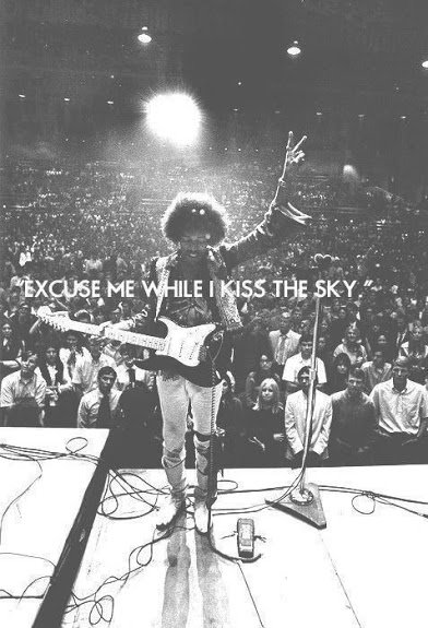 jimi hendrix excuse me while i kiss the sky