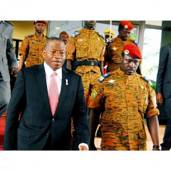 jonathan goodluck with new burkinabe ruler