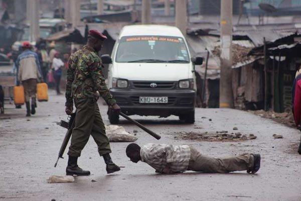 kenyan policing style