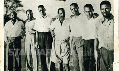 kenyatta and his maumau team