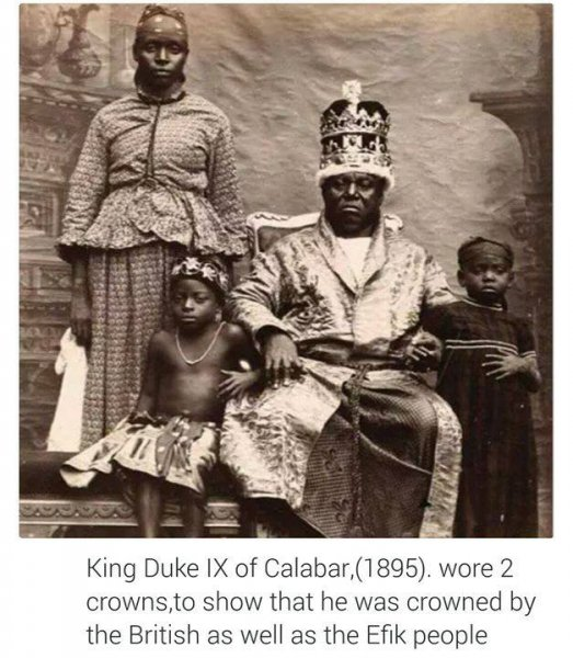 king duke ix of calabar in 1895
