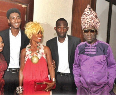 kojo antwi and family