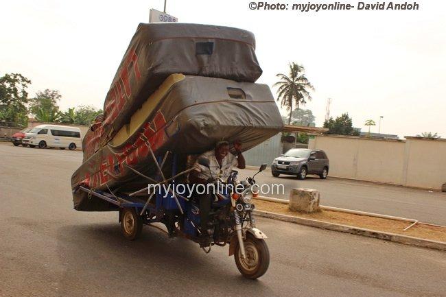 kumasi motorcyclist