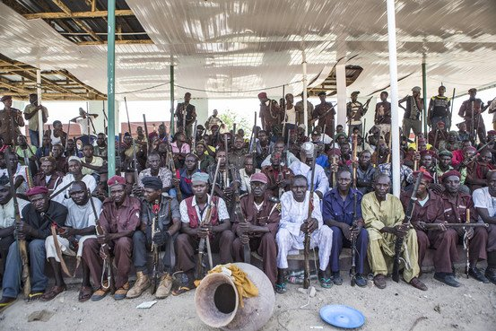 local hunters fighting boko haram