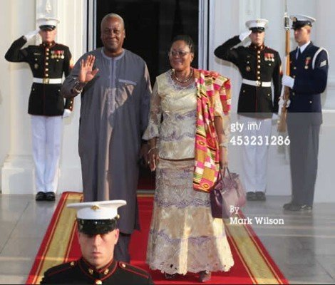 mahama at the white house